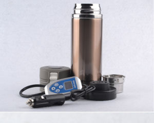 Stainless Steel Auto Electric Heat Vacuum Cup Kettle Travel Mug Boiling Water Keep Warm pictures & photos