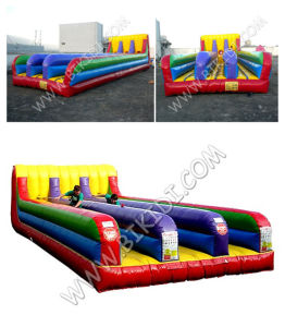 Inflatable Bungee Run/Game Park, Crazy Fun Kids and Adults Inflatable Bungee Run, 3 Lands Bungee Run for Sale pictures & photos