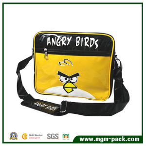 Cute Cartoon Yellow PVC Outdoor Single Shoulder Leisure Bag pictures & photos