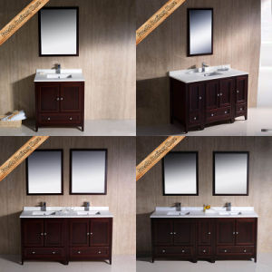 Fed-1072 60 Inch Hot Sales Double Sinks Modern Bathroom Furniture pictures & photos