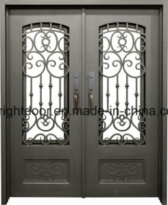 Cheap Front Door Iron Wrought Main Gate Design pictures & photos