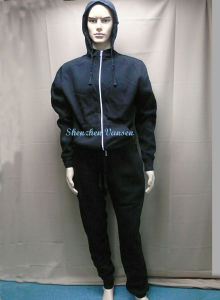 Black Track Suit/Jogging Suit/Sportswear for Winter pictures & photos