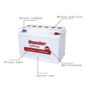Car Battery Automotive Battery Lead Acid Battery (DIN80) pictures & photos