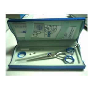 Wood, Coardboard, Plastic Scissors Box with PU, Paper or Paint
