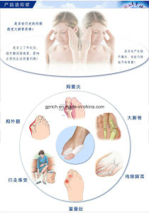 Toe Separator Stretchers Silicone Gel Foot Toe Separator pictures & photos