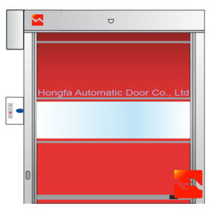 Fabric New Design PVC High Speed Roller Shutter Door (HF-15) pictures & photos