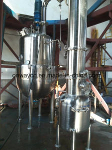 Zn Factory Price Juice Milk Vacuum Evaporator Ketchup Making Machine pictures & photos