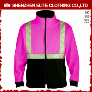3m Fashion OEM Women High Visibility Pink Safety Jacket pictures & photos
