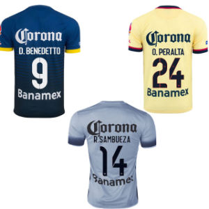Soccer Jersey with Custom Name and No. pictures & photos