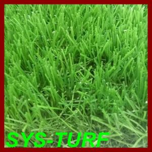 Tricolor Small U-Shape Synthetic Turf for Garden pictures & photos