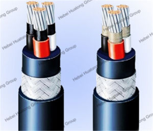 250V Tinned Copper Conductor XLPE/Epr Insulation CPE Sheath Shipboard Symmetric Telecommunication Cable pictures & photos