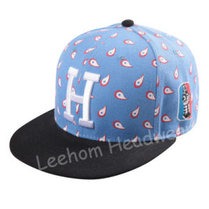 (LSN15048) Snapback Flat Brim Fiftted Cap with Wool Felt pictures & photos
