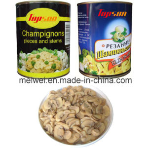 Canned Mushrooms, Cannedchampignon Mushroom Piece & Stems pictures & photos