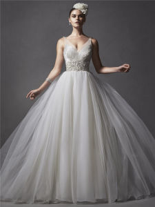 Short Train Sweetheart Plus Size Wedding Dress Ball Gown