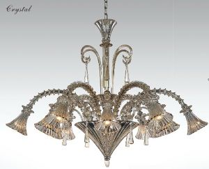 New Style Glass Pendant Lights Chandelier (81052-6+6) pictures & photos