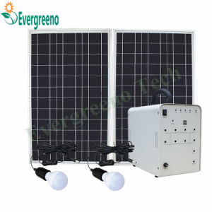 Home Application and Normal Specification Solar Power Generator System pictures & photos