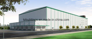 High Cost-Effective Steel Frame Warehouse Building Plans pictures & photos