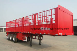 40t Box Stake Truck Trailer/Heavy Duty Cargo Trailer