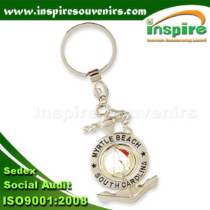 Souvenir Anchor Keychain with Spinner (SA401) pictures & photos