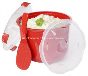 Kitchen Microwave Rice Cooker with Accessories