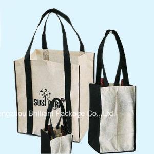 Reusable Nonwoven Wine Bottle Shopping Bag pictures & photos