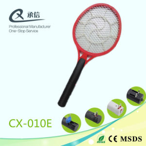 Hot Sale Rechargeable Electronic Kill Mosquitoes Racket to Absorb The Insect pictures & photos
