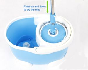 Magic Spin Mop Bucket No Foot Pedal Mould Hdr-M015