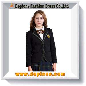 Fitted Black School Blazer for Girl (UC003)