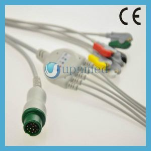Pm5000, Pm6000 ECG Cable with Leadwires pictures & photos