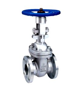 Cast Steel Flange End Gate Valve pictures & photos