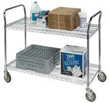 Grocery Cargo Mobile Push Metal Cart (BK753590A2CW) pictures & photos