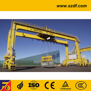 Rubber Tyre Gantry Crane for Container Lifting (RTG Crane) pictures & photos