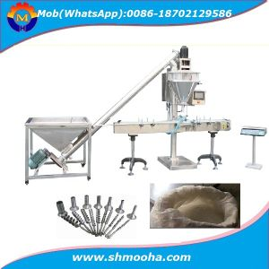Semi Automatic Dry Flour Powder Auger Filler Weigh Filling Packaging Machine pictures & photos