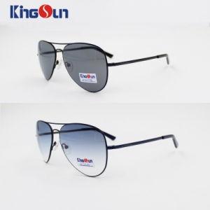 Classic Aviatoer Rb Metal Sunglasses with Mono Block Temple Ks1106 pictures & photos