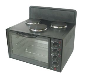 Electric Standing Stove Toaster Oven with Double Desk Case pictures & photos