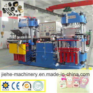 Double Station Rubber Vacuum Compression Molding Vulcanizing Machine pictures & photos