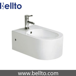 Wall-Hung Ceramic Bidet with bidet attachment (435W) pictures & photos