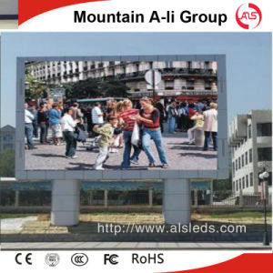 P6 DIP Outdoor LED Display LED Full Color Screen