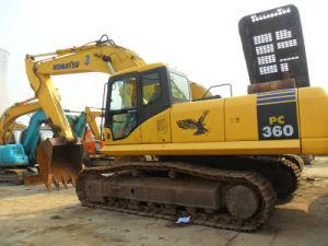 Used Hydraulic Crawler Excavator/Secondhand Komatsu Excavator with CE (PC360-7)