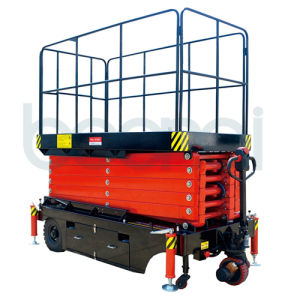 Self Propelled Personnel Scissor Lift pictures & photos