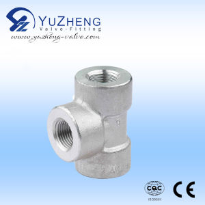 Three Way Stainless Steel Fitting Manufacturer pictures & photos