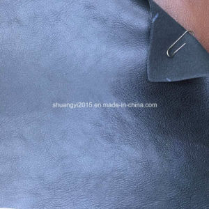 Classical Embossed PU Synthetic Leather for Shoes, Bags, Belt pictures & photos