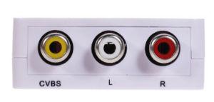 1080P HDMI to AV Converter (CVBS) Converter pictures & photos