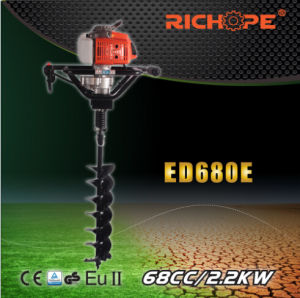 Portable Pertol Engine Earth Drill (ED680E) pictures & photos