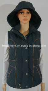 Promotional Overcoat Gift Cotton Waistcoat for Women/Lady pictures & photos