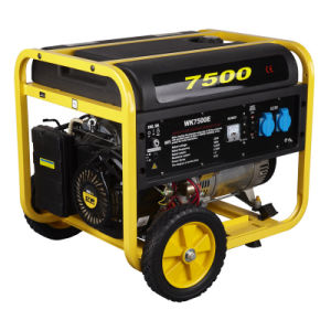 6000 Watts 6500W 6kw Portable Power Gasoline Generator with CE, Soncap Certificate (WK-7500E) pictures & photos