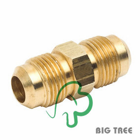 "Brass Straight Flare Fitting, 1/4-1"" pictures & photos"