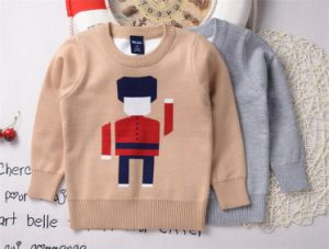 T1197 2015 Autumn 100% Cotton Baby & Kids Clothes Boy Sweater Pullover Knitting Shirt Simple Style Inner Outer Wear Children Tops pictures & photos