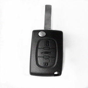 New Arrive 3 Buttons Car Remote Key Keyless Entry System Remote Control with Keyblade pictures & photos
