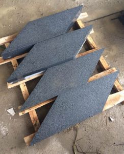 G654 Black Granite Diamond Shaped Tiles Project Stone pictures & photos